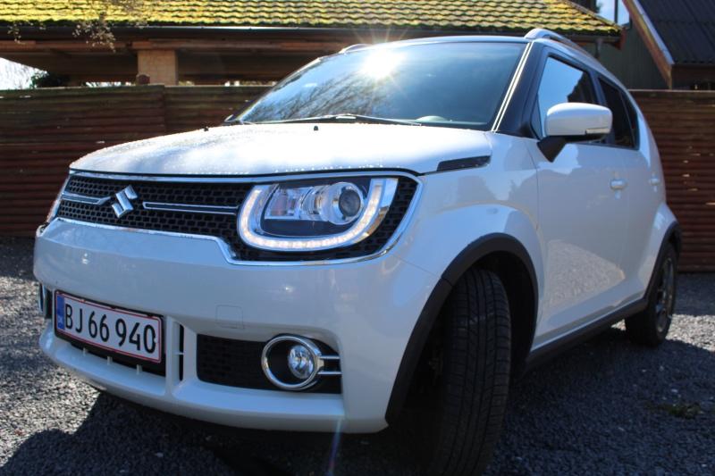 Suzuki Ignis i hvid