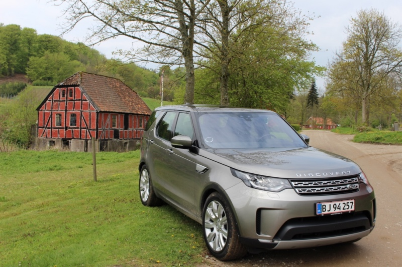 Land Rover Discovery foran Thisbæk gods