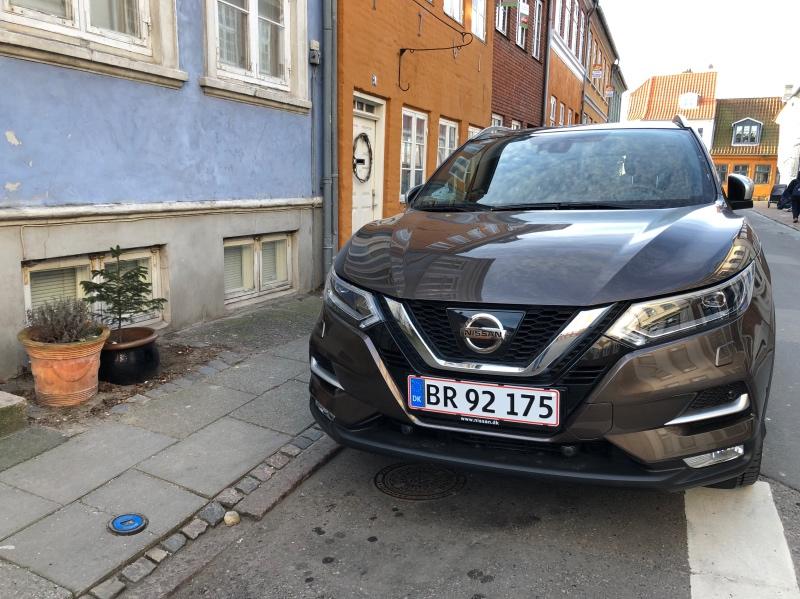 Nissan Qashqai på gade i Sverige