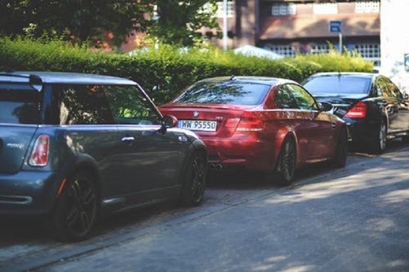 parkering i byen