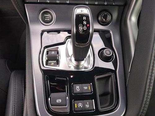 F-Type automatgear og knapper