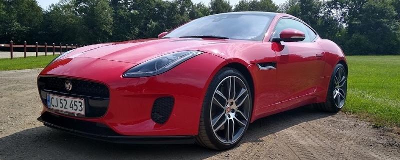 Biltest af Jaguar F-Type