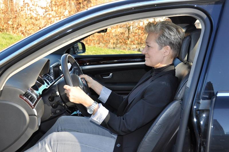 Kørestilling siddende