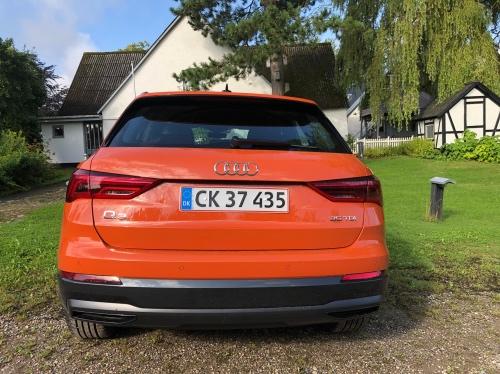 Bagfra ligner Audi Q3 sin lillesøster Audi A3