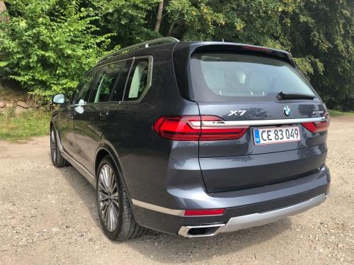 BMW X7 set bagfra