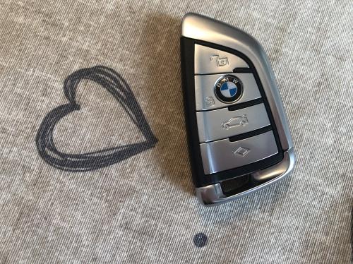 En lækker og enkel nøgle til BMW X7