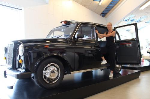 London taxa på kontoret
