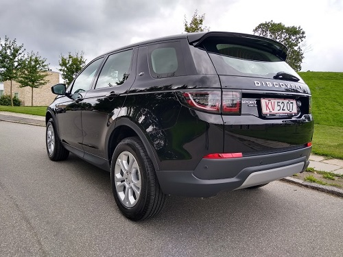 Discovery sport bagfra