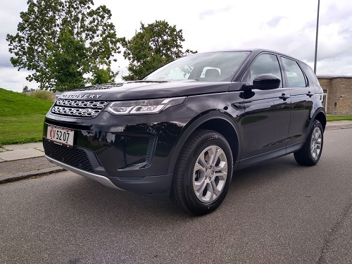 Discovery sport forfra