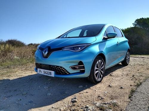 Front af nye Renault ZOE