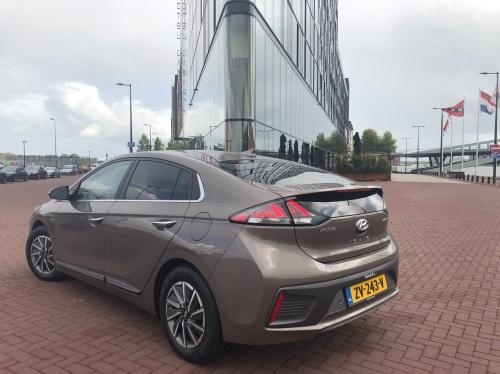 Bagenden af Hyundai Ioniq