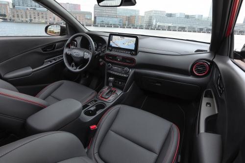 Interiør i Hyundai Kona