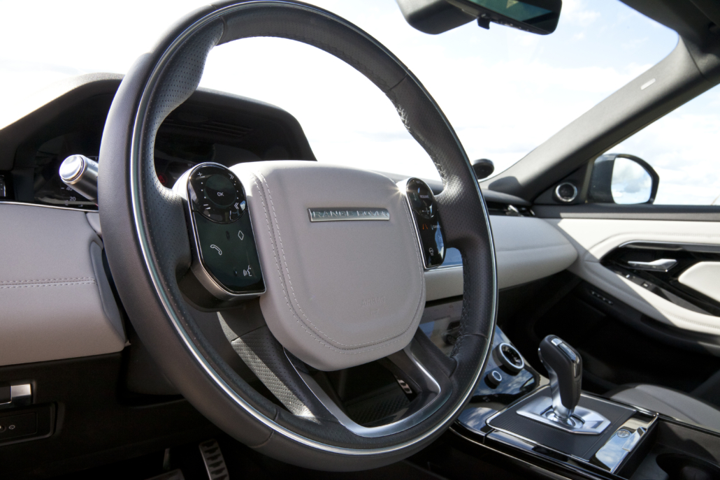 Range Rover Evoque: Rattet med interaktive knapper