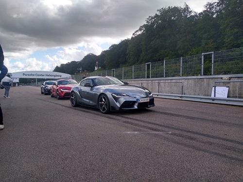 Toyota Supra klar til banekørsel