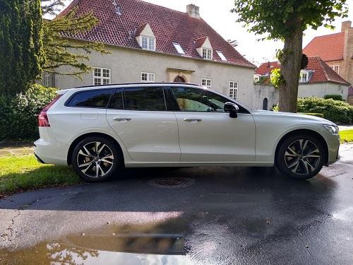 Volvo V60 venstre side