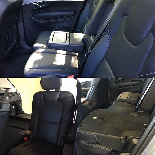 Volvo XC90 bagsæder