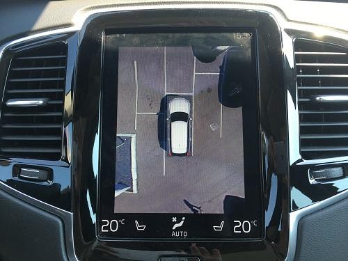 Volvo XC90 parkeringskamera