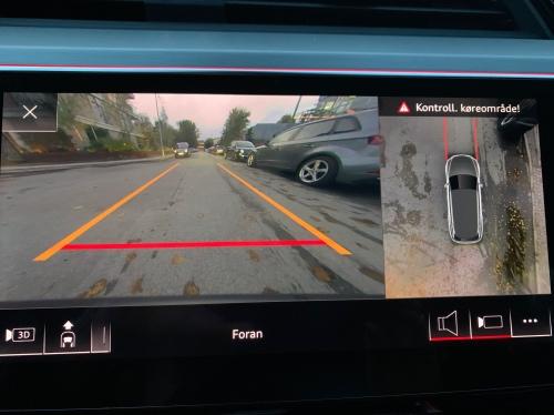 Audi e-tron 360 graders kamera