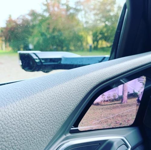 Virtuelt sidespejl på Audi e-Tron