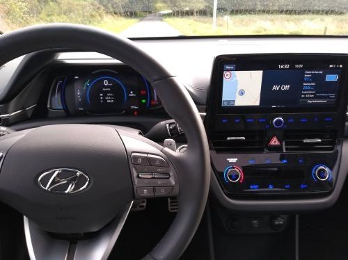 Hyundai Ioniq instrumentbræt