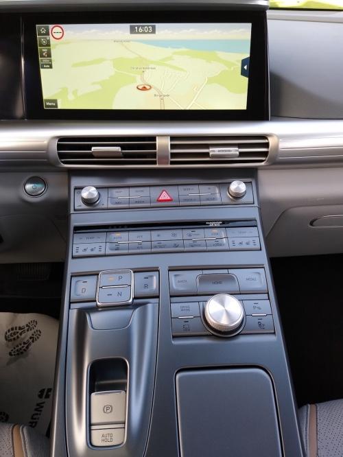 Hyundai Nexo cockpit