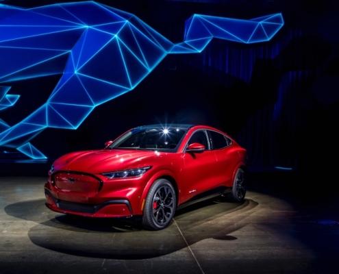 Ford Mustang Mach-E teaserbillede