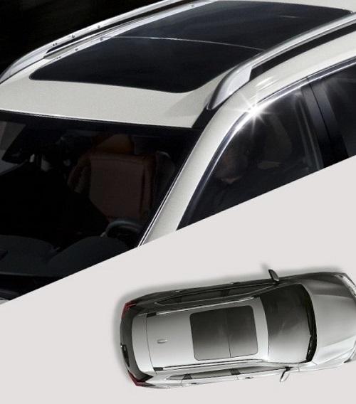 Elektrisk panoramaskydetag. Foto: Nissan