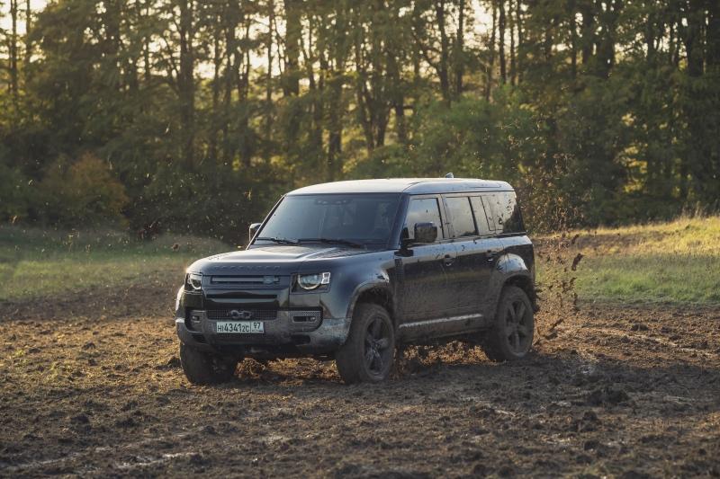 Den nye Land Rover Defender