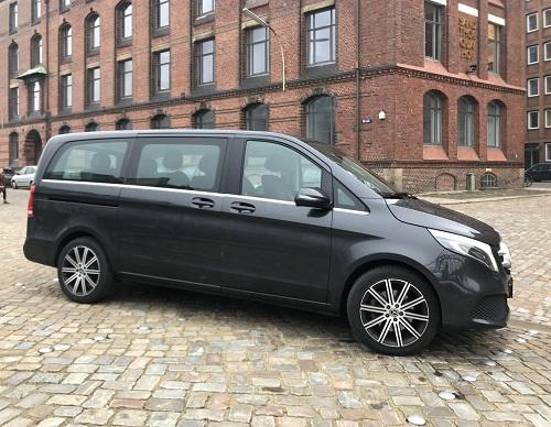 Mercedes-Benz V 300 d i profil