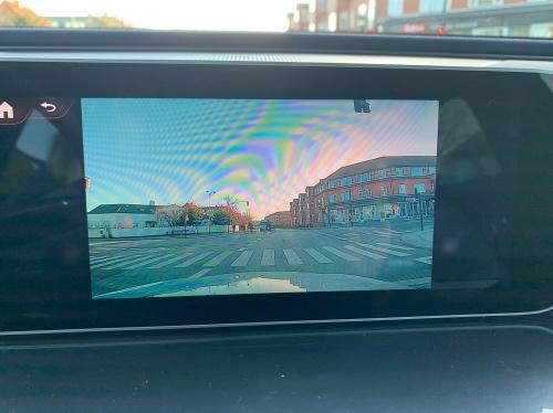 Kamera i Touchscreen