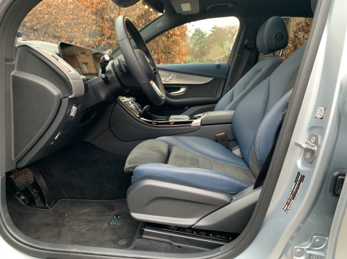 Lækre sæder i bilen
