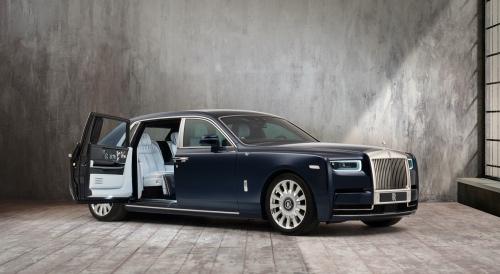 Rolls-Royce Phantom forfra