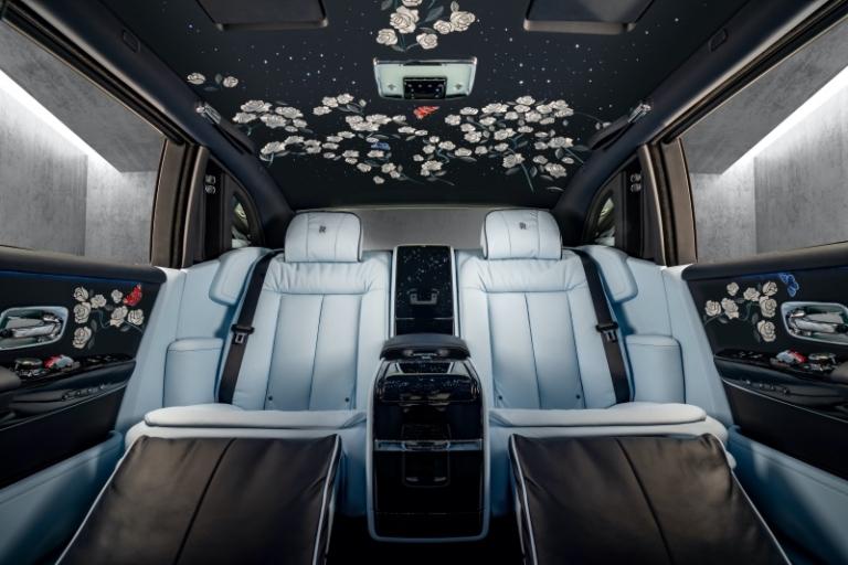 Rolls-Royce rose phantom teaser