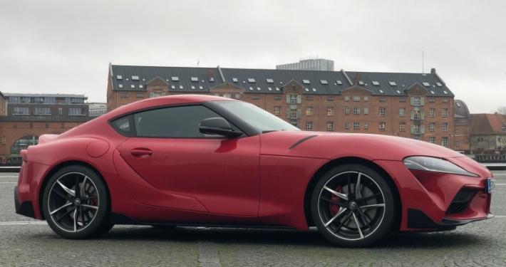 Toyota Supra teaserbillede