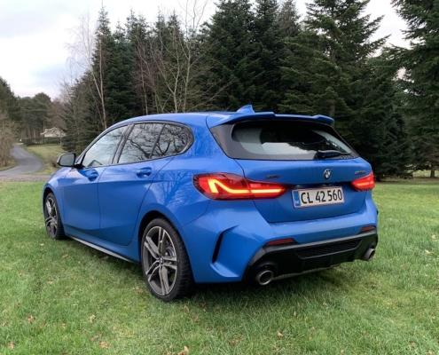 BMW M135i smart bagende