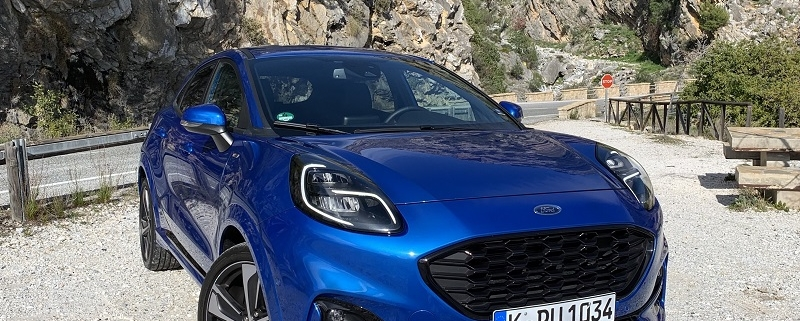 Ford Puma front ST-Line