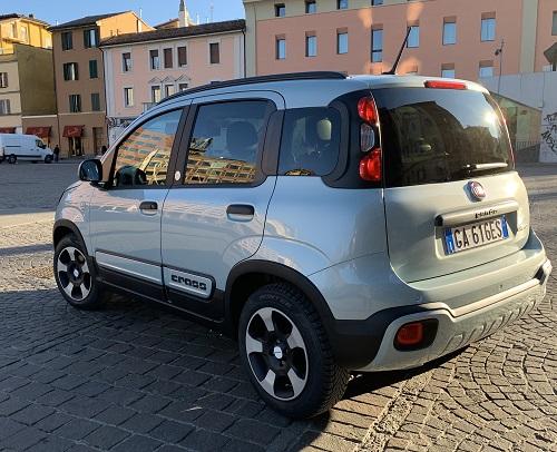 Fiat Panda bagfra og side