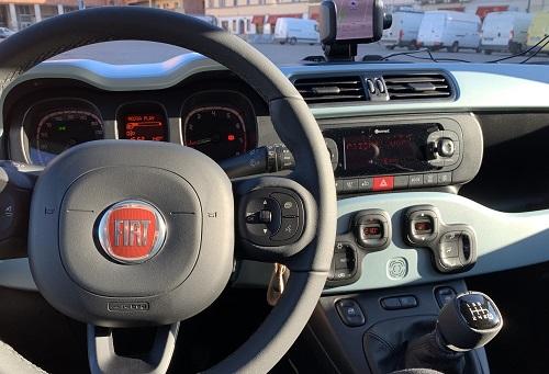 Fiat Panda kabine