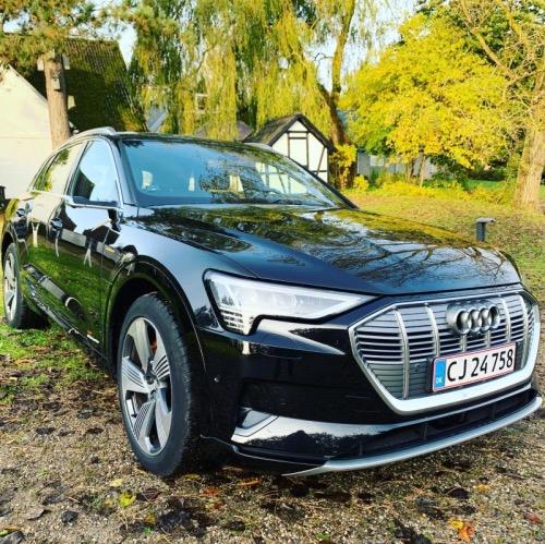 Firmabils beskatning, billede af Audi e-tron front