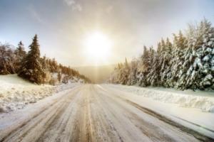 Vinterkørsel teaserbillede skiferie