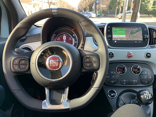 Kabine Fiat 500