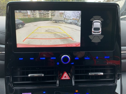 bakskærm i Hyundai IONIQ electric