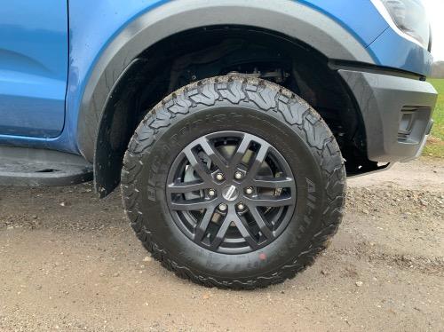 Ford Ranger Raptor dæk