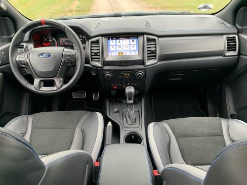 Ford Ranger Raptor kabine