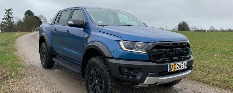 Ford Ranger Raptor teaserbillede