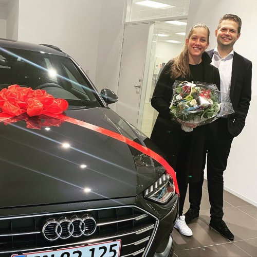Den sponsorerede Audi A4