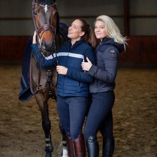 Cathrine Dufour med kæresten Rasmine Laudrup