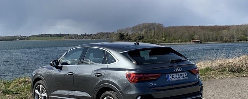 Audi Q3 Sportback bagfra