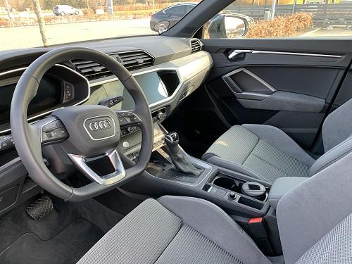 Kabine i Audi Q3 Sportback