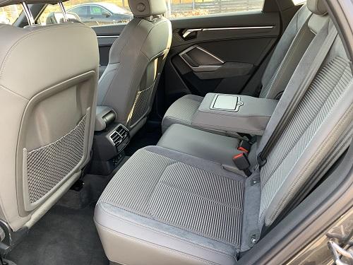 Bagsæderne i Audi Q3 Sportback